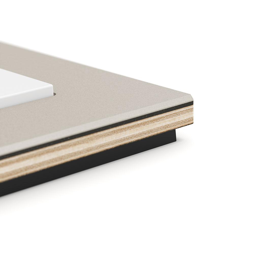 Esprit Linoleum Plywood closeup