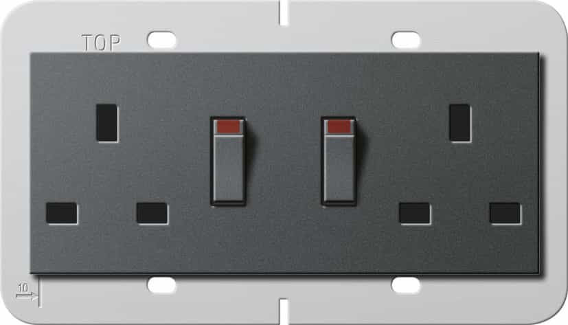 Picture of Esprit Black Glass Sockets from Swtch