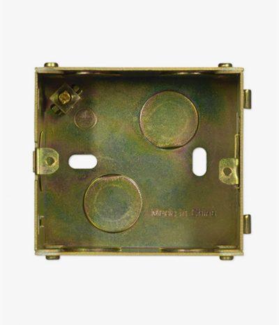 Jung UK metal back box