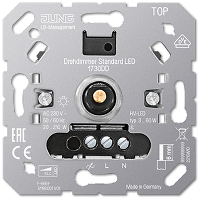 Picture of LS990 Black Dimmer from Swtch