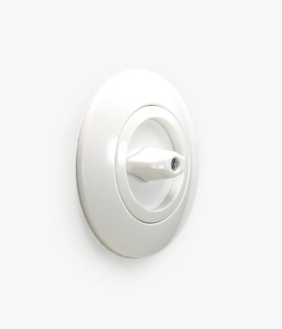 Berker Serie 1930 White Plastic rotary light switch