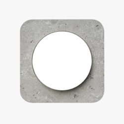 Berker R.1 Concrete light switch