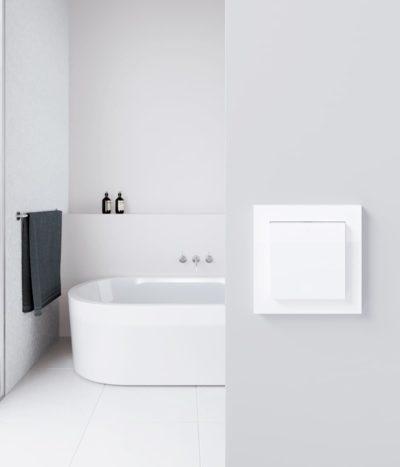 GIRA E2 Classic White bathroom switch
