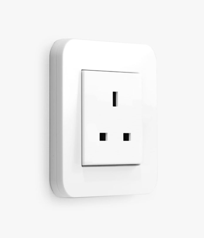 E3 Pure White Socket