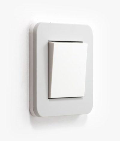 GIRA E3 light grey light switch