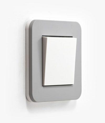 GIRA E3 mid grey light switch