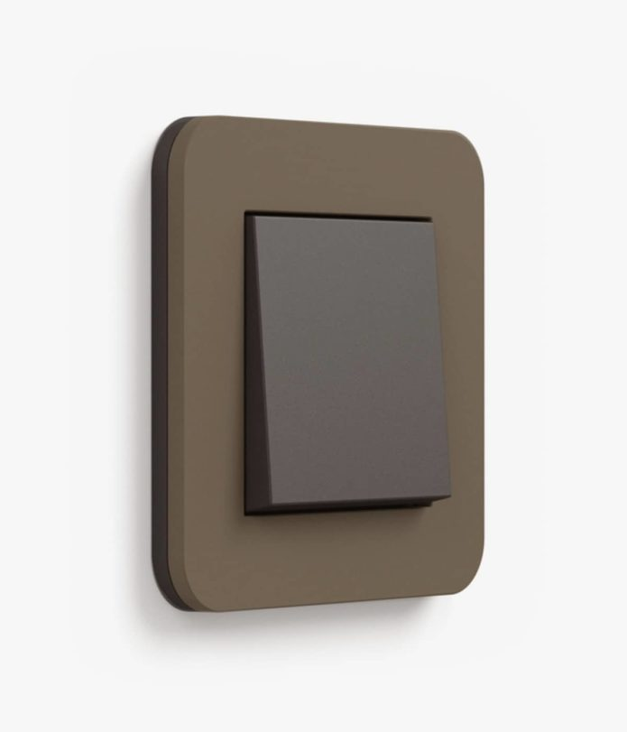E3 Soft Touch Umber/Anthracite Single (2-way)
