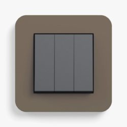 E3 Soft Touch Umber/Anthracite Triple (2-way)