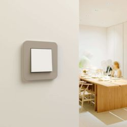 E3 Sand/White Glossy Dimmer (2-way)