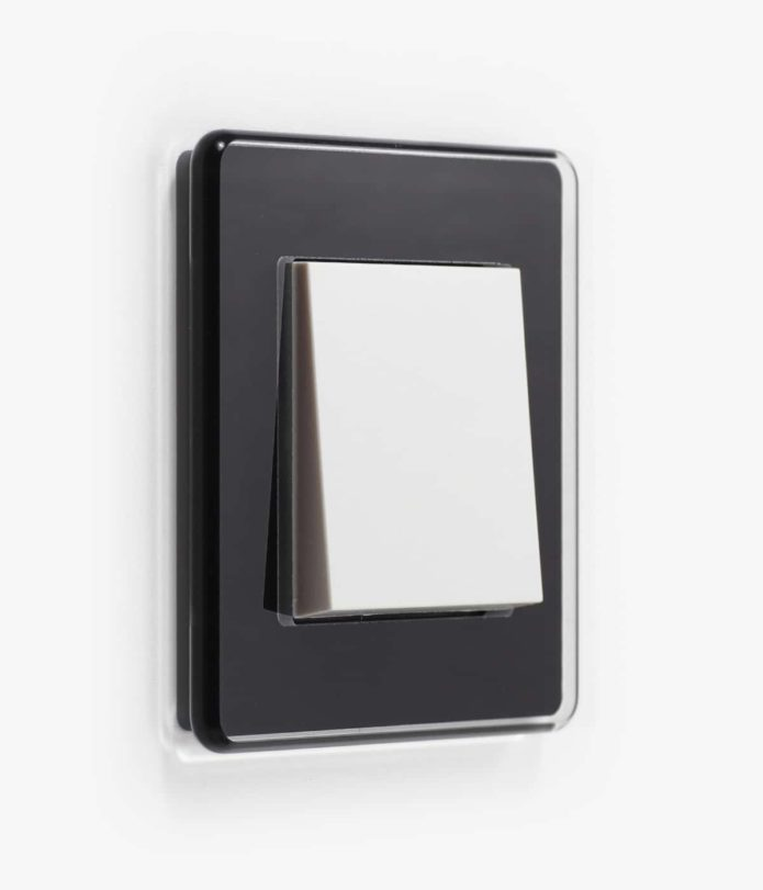 GIR Esprit Black Glass Rounded Edge