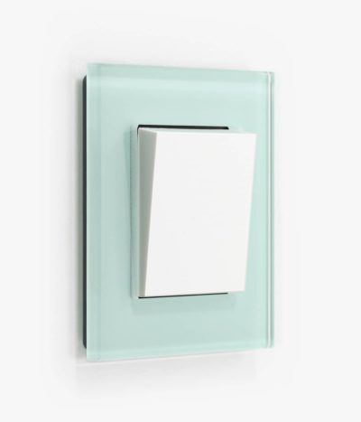 GIRA Esprit Mint Glass light switch