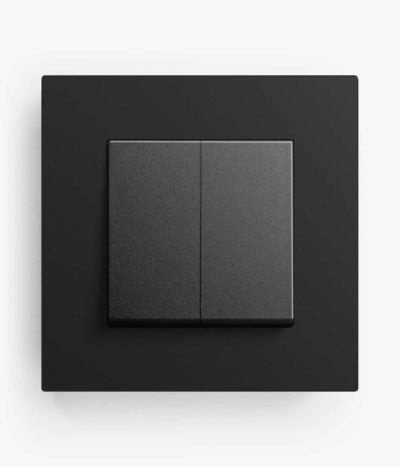 GIRA Esprit Linoleum Plywood light switch