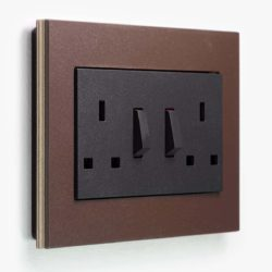 Esprit Lino-Ply Brown Sockets