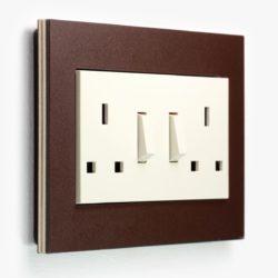 Esprit LP Dark Brown Double Socket