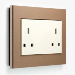 Esprit LP Light Brown Double Socket