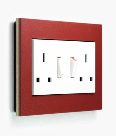 Esprit Linoleum-Plywood double socket