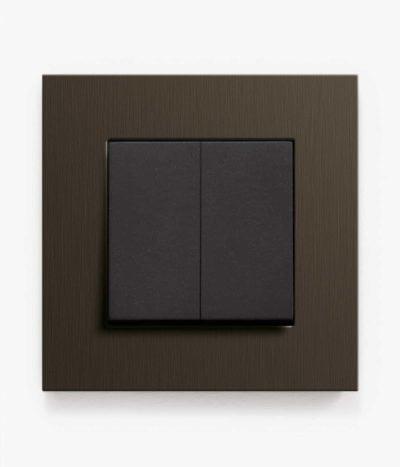 GIRA Esprit Dark Bronze light switch