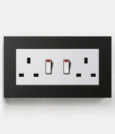 GIRA Esprit Black Double Socket
