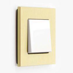 Esprit Aluminium Gold/White Single (2-way)