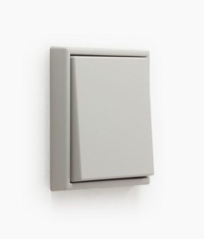 Jung Les Couleurs de Le Corbusier 32013 grey light switch
