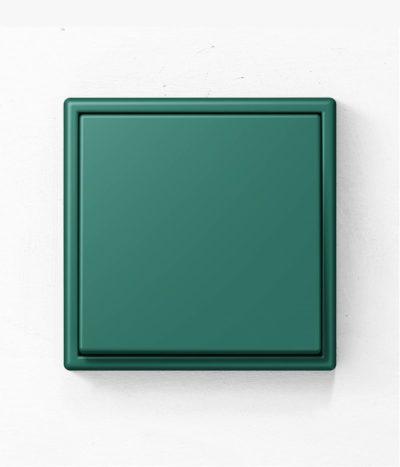 Jung Les Couleurs de Le Corbusier 32040 green light switch
