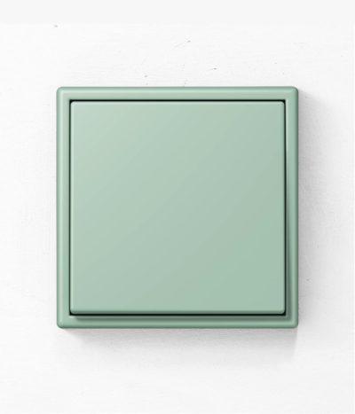 Jung Les Couleurs de Le Corbusier 32041 green light switch