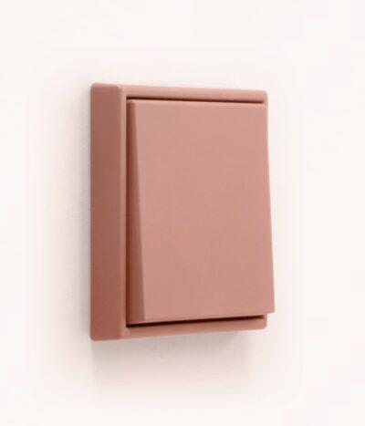 Jung Les Couleurs de Le Corbusier 32111 terracotta light switch