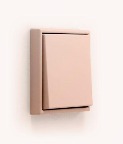 Jung Les Couleurs de Le Corbusier 32112 terracotta light switch