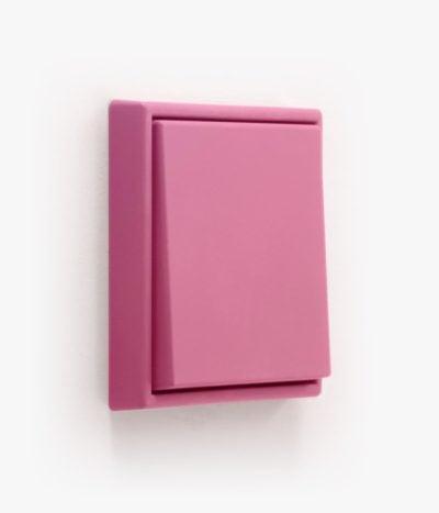 Jung LS990 Les Couleurs Rose Vif light switch
