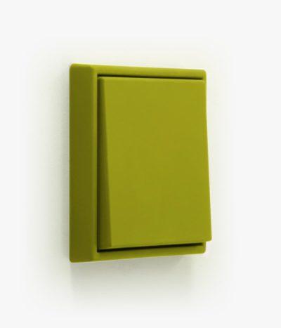 Jung LS990 Les Couleurs Vert Olive Vif light switch