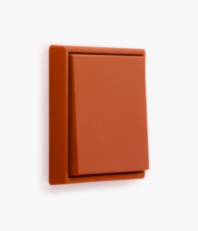 Jung Les Couleurs light switch in orange