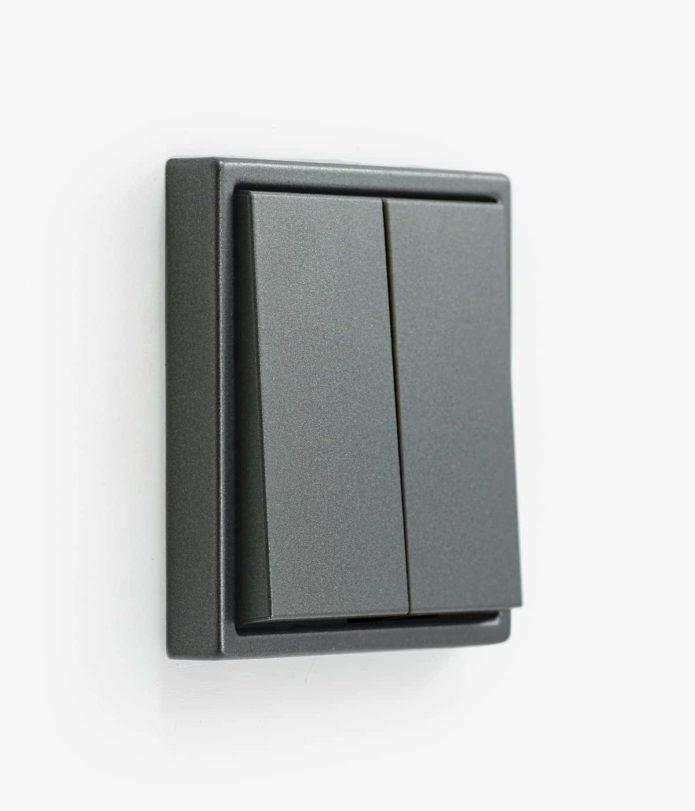 LS990 Aluminium Anthracite Double (2-way)