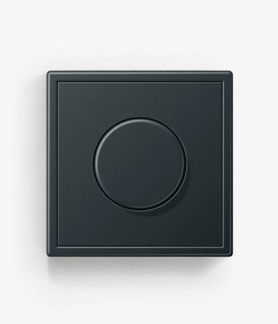 Jung LS990 Metal Anthracite Dimmer switch
