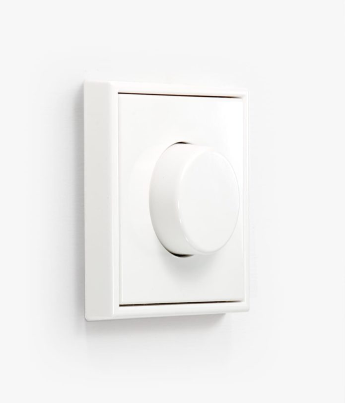 JUNG LS 990 Dimmer in white