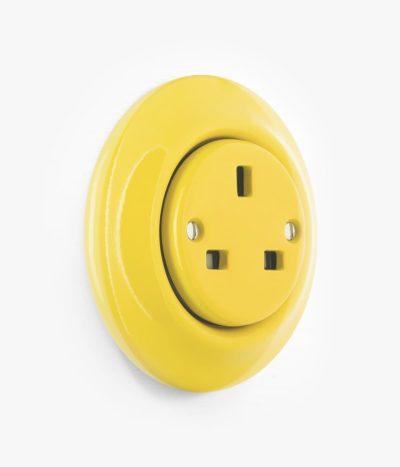 Katy Paty Roo Colours yellow plug socket