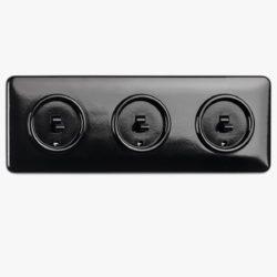 THPG Bakelite switch triple combination