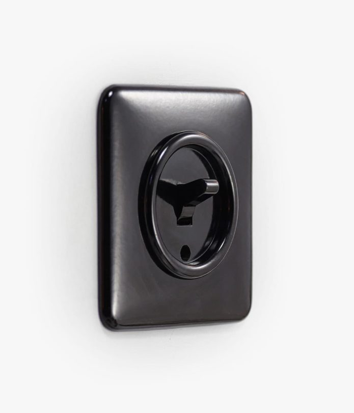THPG Bakelite Toggle Square light switch