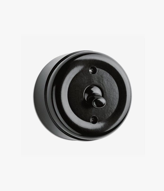 Bakelite Toggle surface-mounted light switch